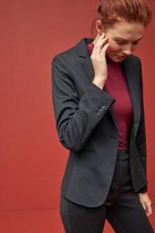 Однобортный трикотажный пиджак