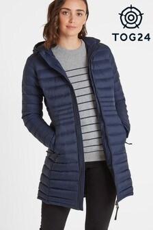Tog 24 Womens Blue Denby Down Fill Jacket