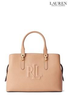Lauren Ralph Lauren® Nude Leather Hayward Handbag