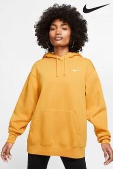 Флисовая толстовка с капюшоном в стиле оверсайз Nike Essential Trend
