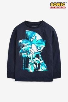 T-shirt à manches longues Sonic (3-16 ans)