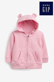 Розовая толстовка с капюшоном Gap