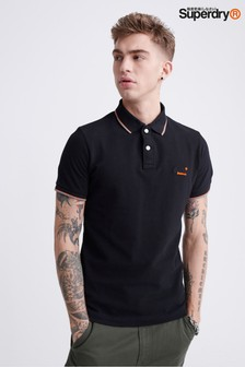 Superdry Black Pools Poloshirt