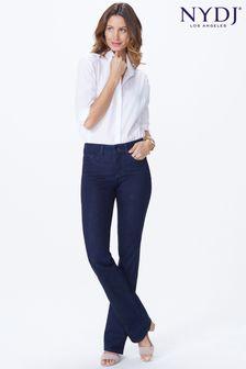 NYDJ Barbara Bootcut-Jeans, Dunkelblauer Denim