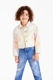 Укороченная джинсовая куртка в стиле вестерн (3-16 лет)