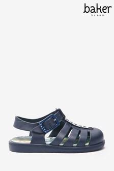 נעלי מדוזה של Baker by Ted Baker בכחול כהה