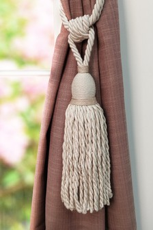Olivia Bard Knitted Tie Back