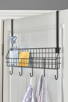 Bronx Wire Shelf with Hooks