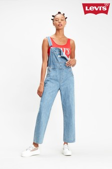 Levi's® Light Wash Overalls