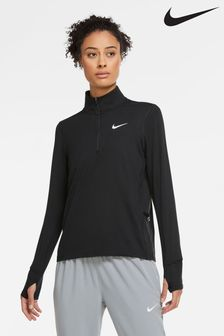 Nike Element Laufsport-Top mit 1/2-Reißverschluss