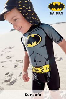 Batman® Sunsafe Swimsuit (3mths-8yrs)
