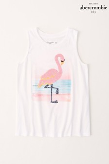 Abercrombie & Fitch Flamingo Vest