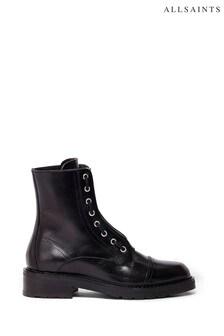 Черные ботинки на молнии AllSaints Ariel