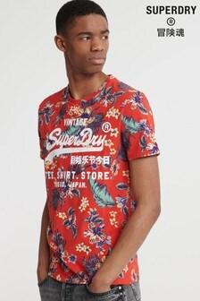 חולצת טי Super 5' של Superdry