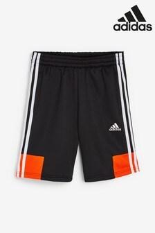 adidas Black/Orange Shorts