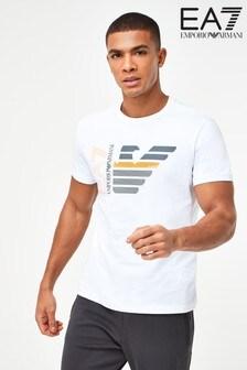 Emporio Armani EA7 White Eagle T-Shirt