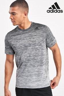 adidas T-Shirt mit Farbverlauf, Schwarz
