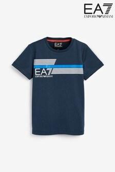 Emporio Armani EA7 Boys 7 Line T-Shirt