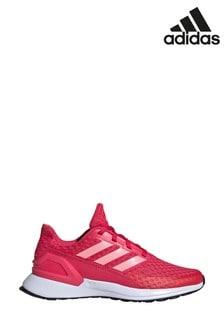 Розовые/белые кроссовки для подростков adidas RapidaRun
