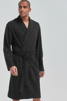 Lightweight Waffle Dressing Gown