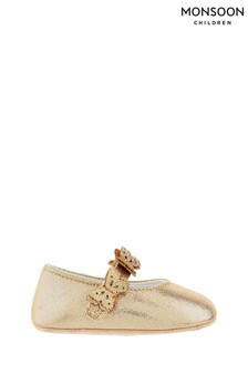 Monsoon Baby Savannah Butterfly Booties
