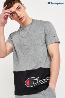 Champion Colourblocked Crew Neck T-Shirt