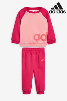 adidas Infant Essentials Crew And Joggers Set