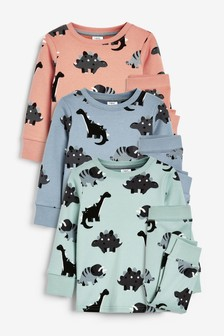 3 Pack Snuggle Pyjamas (9mths-8yrs)