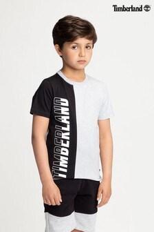 Čierno-sivé tričko Timberland®