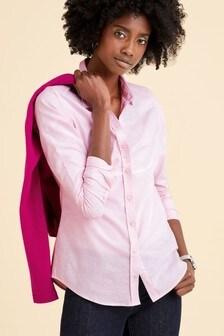Розовая хлопчатобумажная рубашка Pure Collection