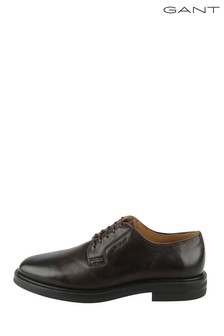 GANT Brown Fargo Low Lace Shoes