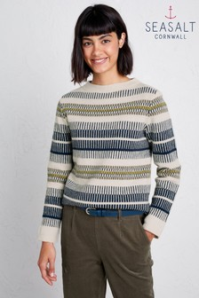 Seasalt Natural Engraved Jumper