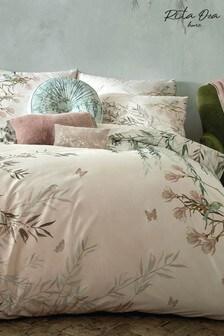 Rita Ora Pink Ortensia Peony Pillowcase