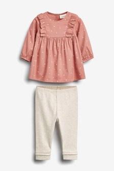 Ensemble chemisier et leggings (0 mois - 2 ans)