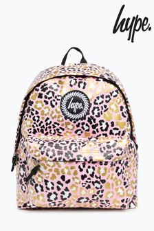 Hype. Glitter Leopard Backpack