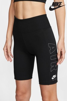 Nike Air - Shorts stile ciclista neri