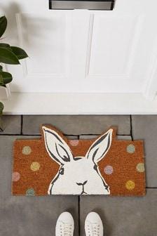 Dotty Bunny Doormat