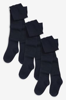 Lot de 3 collants pour l'école