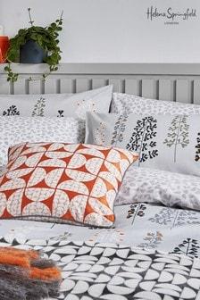 Set of 2 Helena Springfield Black Dahl Tolka Housewife Pillowcases
