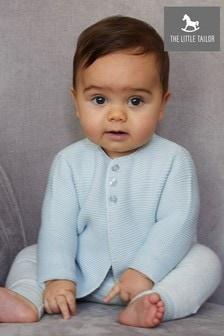 Cardigan en coton The Little Tailor bleu