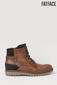 FatFace Brown Chilton Hiker Boots