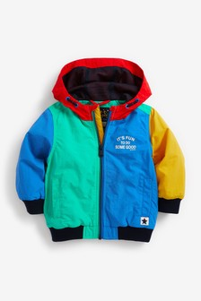 Colourblock Bomber Jacket (3mths-7yrs)