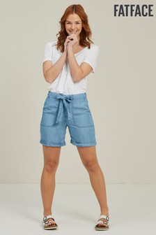 FatFace Blue Lily TENCEL™ Shorts