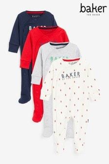 حزمة من 4 ملابس نوم من Baker by Ted Baker