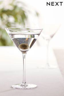Nova Set of 2 Martini Glasses