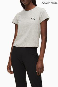 Calvin Klein Freizeit-T-Shirt, grau