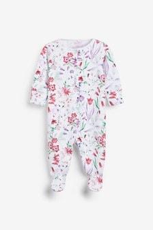 Пижама с цветочным рисунком (0 мес. - 2 лет)