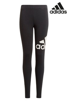 adidas Black Logo Leggings