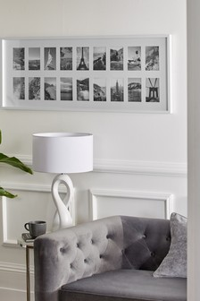 White Gallery Multi Aperture Photo Frame
