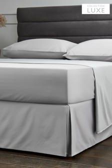 חצאית למיטה של Collection Luxe מ-100%כותנה בצפיפות300 חוטים